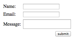 Basic Contact Form